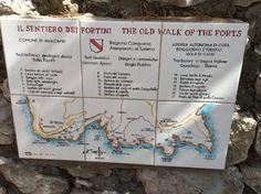 Il sentiero dei fortini, Anacapri - Isola di Capri
