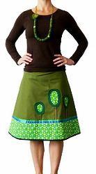 Greenpeace - unique designed A-line skirt