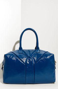 29fb5f983fc4 Yves Saint Laurent  Medium Easy  Patent Tote  1095 Ysl