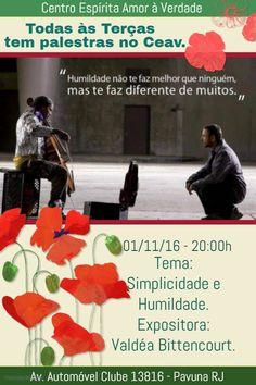 CEAV Convida para a sua Palestra Pública - Pavuna - RJ - http://www.agendaespiritabrasil.com.br/2016/11/01/ceav-convida-para-sua-palestra-publica-pavuna-rj-21/