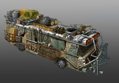 Well, this would be a DREAM apocalypse vehicle!!  atoba_1 by andreiha.deviantart.com on @deviantART