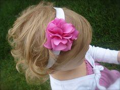 Hydrangea Soft Elastic Headband