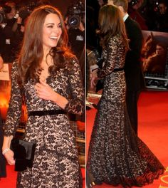 Kate Middleton - Catherine, Duchess of Cambridge, in lace.