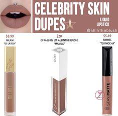 Velour Liquid Lipstick, Lipstick Dupes, Lipstick Shades, Makeup Dupes, Lipstick Colors, Colorful Eyeshadow, Colorful Makeup, Beauty Dupes, Beauty Makeup