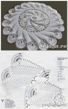 crochet doilies Big crochet rug, round area rug in), doily rug, yarn lace mat, cottage nurs. Crochet Doily Diagram, Crochet Mandala Pattern, Crochet Circles, Filet Crochet, Thread Crochet, Crochet Patterns, Crochet Rugs, Afghan Patterns, Doily Rug