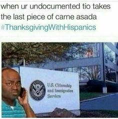 Thanksgiving with Hispanics