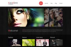 Free Bootstrap Responsive Template for Photography Site