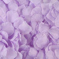 Lilac Light Purple Lavender Rose Petals, Silk Rose Petals,DIY Aisle Runner, Rose Petal Aisle Runner, Flower Girl Petals, Petal Toss, Weddi