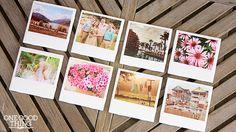 "DIY ""Polaroid"" Photo Coasters"