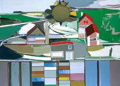 """Thomas Scheibitz  """"Untitled"""", 2002 via  The Saatchi Gallery"""