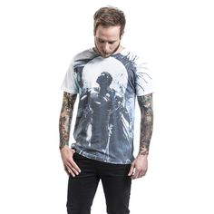 "Classica T-Shirt uomo ""Art"" di #Superman."