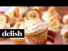 Best Banana Pudding Cupcakes - How to Make Banana Pudding Cupcakes