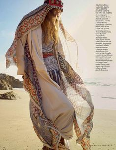 """Dreaming of Dior: """"La Nomade"""" by Cedric Buchet for ELLE Italia May 2015"""