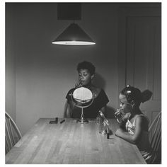 Carrie Mae Weems's 'Untitled (Woman and Daughter With Makeup)