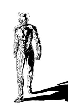 Ant Man Lineart by ~RossoWinch on deviantART