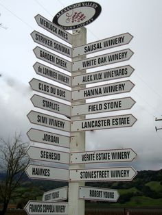 Alexander Valley / Sonoma County wineries
