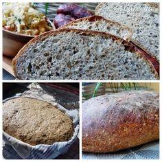 Špaldovo-kváskový chlieb so záparou (fotorecept) - Recept