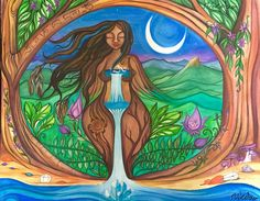 You are witness to Lady Wollumbin's sacred creations whenever you connect with Nature. -Shikoba- ARTWORK: ©Josie Doolan for Shikoba  WILD WOMAN  SISTERHOOD™   Lady Wollumbin is a newly born Goddess  of the modern era, helping us combine the tradional wisdoms along with some new medicines.  She is Gaia in all her attributes. Lady Wollumbin is also known as the Goddess of Mt. Warning, Australia. #goddess #rewild #wildwomansisterhood #shikiba #shikobaquotes #wildwomen  #wildwomanmedicine…