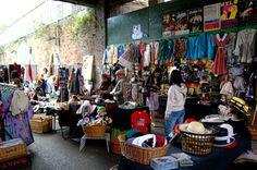 Brick Lane Market, Hoxton, London.