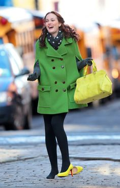 Blair's coats on the show are always really cute
