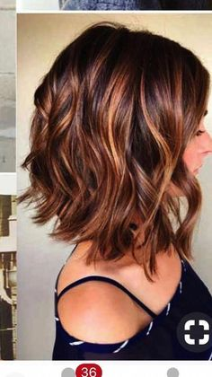 – Ich liebe diese Frisur … J'adore vraiment cette coiffure. – J'adore vraiment cette coiffure. Auburn Balayage, Brown Hair Balayage, Ombre Hair, Blonde Hair, Caramel Balayage, Purple Hair, Long Bob Balayage, Balayage Lob, Copper Balayage