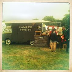 Cool Coffee van - camp bestival