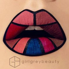 21 Works of Lip Art You Won't Believe!  CherryCherryBeauty.com