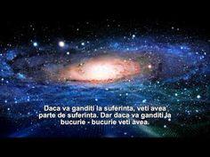 Puterea gandului - YouTube Spirituality, Mindfulness, Wellness, Celestial, Thoughts, Youtube, Movies, Mariana, Films