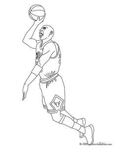 Coloriage du joueur de foot Zinedine Zidane. À imprimer