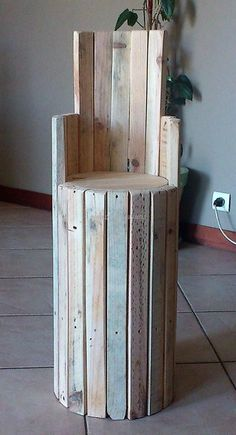 pallet bar chair idea