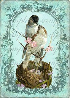 #handmade #vintage #flowers #ручная_работа #винтаж #цветы #винтажные_картинки…