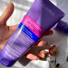 Want silky smooth hair? 💁♀️ Our new #ShimmerLights Violet Toning Mask deep conditions and tones blonde, highlighted, and silver hair! With lavender extract and a special blend of jojoba, coconut and argan oils, this mask is perfect for an at-home #selfcare day. 🧖♀️#ClairolProfessional #KeepUpYourBlonde #SLlxInfluenster #Regram 📸:: @Phub.lab Silky Smooth Hair, Lavender Extract, Shimmer Lights, Deep Conditioner, Argan Oil, Silver Hair, Lab, Coconut, Collection