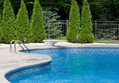 A roundup of the best swimming pools for cold climates. Learn how you can enjoy a backyard pool despite harsh winters and short swimming seasons. Cool Swimming Pools, Best Swimming, Cool Pools, Pool Cleaning Service, Pool Service, Solar Pool Cover, Cheap Pool, Pool Contractors, Concrete Pool