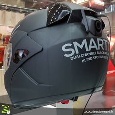 HJC SmartOn Camera New helmet from HJC with 1080p forward facing camera and 720p rear facing camera