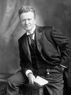 Robert M. La Follette, Sr. in a photo from 1906 during his tenure as U.S. senator from Wisconsin! Born June 14.