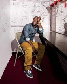 Kevin Hart: How to Be Funny  http://www.menshealth.com/best-life/kevin-hart-comedy-tips  Posted by Stand-UpComedy.com