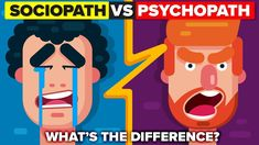 What's the difference between a sociopath and a psychopath? How does a psychopath compare to a sociopath? Do you have an exalted sense of self? Cluster B Personality Disorders, Psychopath Sociopath, Antisocial Personality, Forensic Psychology, Criminology, Mental Disorders, Anti Social, Crazy People, Criminal Minds