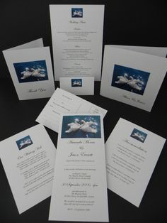 Swans Wedding Invitations & Stationery Swans Wedding Invitations & Stationery - $0.79 These are the invitations we want for our wedding.