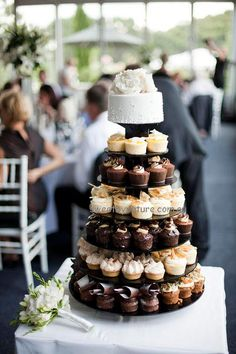 A Selection Of Individual Serve Desserts Are Great Alternative To The Traditional Wedding Cake