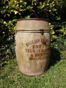 Large Vintage Ale Barrel