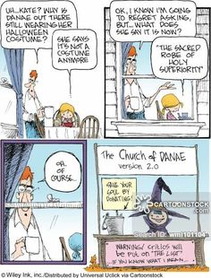 non sequitur-- dana and kate comics   trick or treater cartoons, trick or treater cartoon, funny, trick or ...