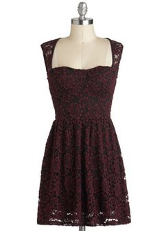 Threads of Timelessness Dress, #modcloth #partydress