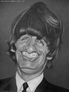 Ringo Starr of The Beatles by Christian Stellner