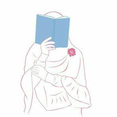 Anime Chibi, Anime Art, Muslim Book, Hijab Drawing, Islam Women, Anime Muslim, Hijab Cartoon, Islamic Girl, Cute Little Things