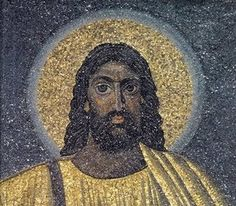 This image of the dark-skinned and black-eyed and haired Jesus is dated 530 CE, found in a church of Rome. This portrait of the face of Jesus is totally different from those of the Renaissance era.  http://jesusisnotalone.blogspot.com/2009/10/original-face-of-jesus-european-or.html