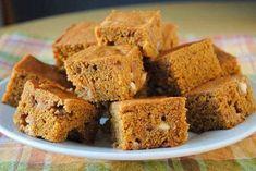 Őszi édesség fogyni vágyóknak: sütőtökös süti recept | Babafalva.hu Healthy Cake, Healthy Cookies, Cake Bars, Dairy Free, Clean Eating, Food And Drink, Pumpkin, Yummy Food, Sweets