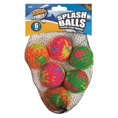 Splash Balls - 6 Pack Listing in the Other,Outdoor Toys,Toys & Hobbies Category on eBid United Kingdom | 148253799