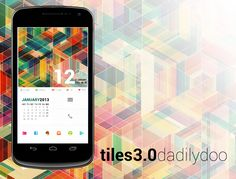 Tiles 3.0 Android Homescreen by dadilydoo - MyColorscreen