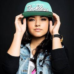 Becky G! Beautiful and talented! Future star......