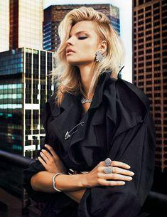 Fashion Editorial ♥Vogue Paris  Magdalena Frackowiak 